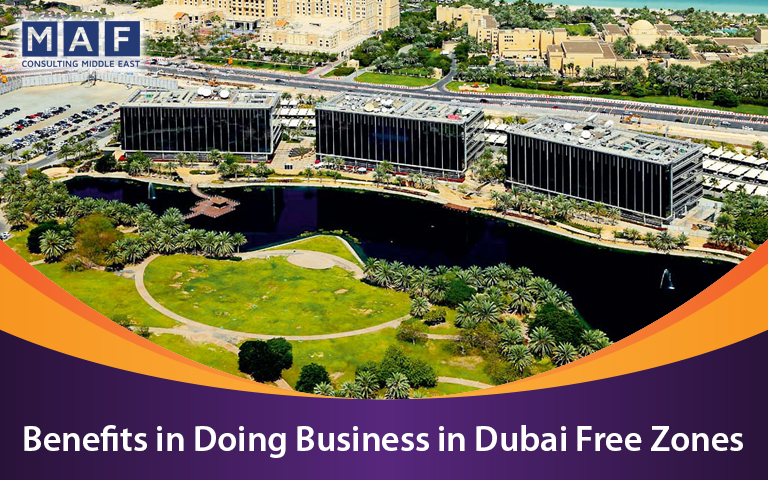 benefits of business setup in dubai freezones