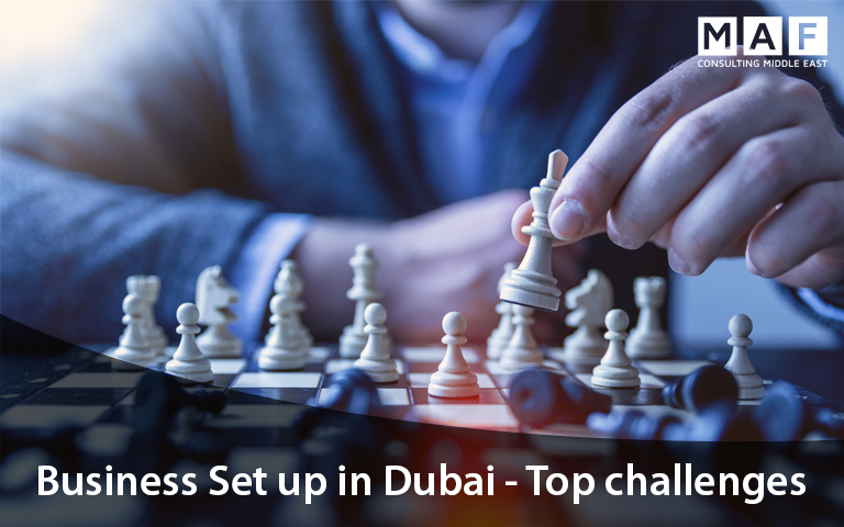 business setup in dubai challenges