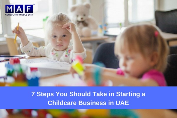 Childcare Business setup in UAE