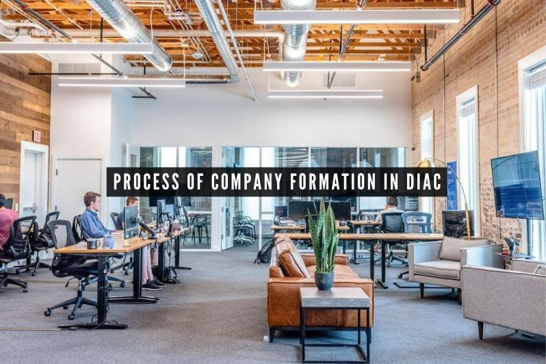 Process of company formation in diac