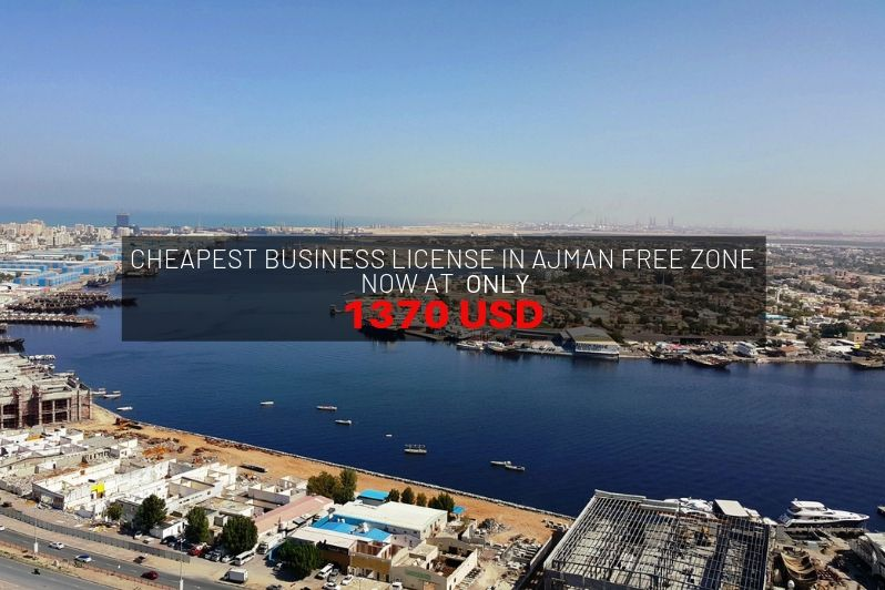Cheapest Business License in Ajman Free Zone