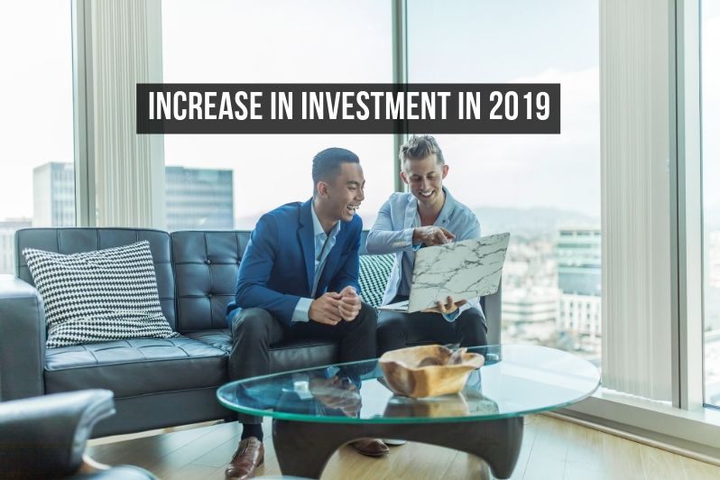increase in investment in 2019